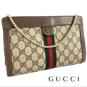 Gucci Web Clutch Crossbody bag
